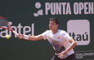 Tomás Barrios se estrenó con una sólida victoria en el Challenger de San Luis de Potosí