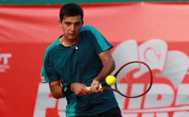 Tomás Barrios avanzó en el Challenger de Morelos tras vencer al primer favorito