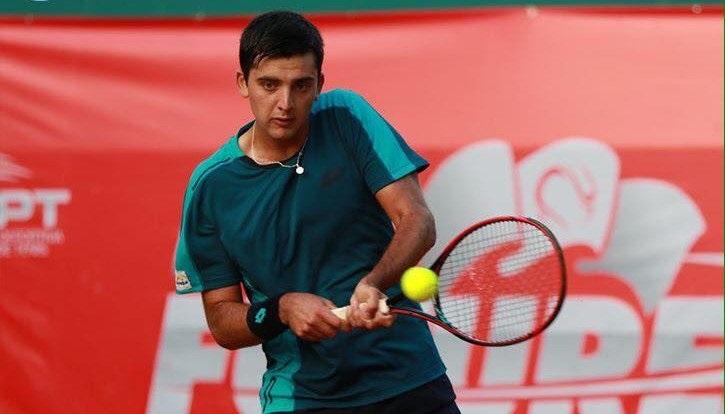 Tomás Barrios celebró en el arranque del Challenger de Shymkent