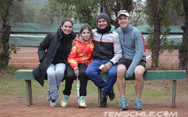 Nuevos campeones en Tenis 10 y 12 de Universidad de Chile