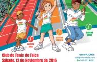 Último Tenis 10 del año en Talca