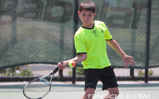 Con partidos en el court central se jugó un nuevo tenis 10