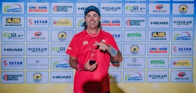 Iquiqueño brilló en el torneo de Tenis Playa más grande del mundo