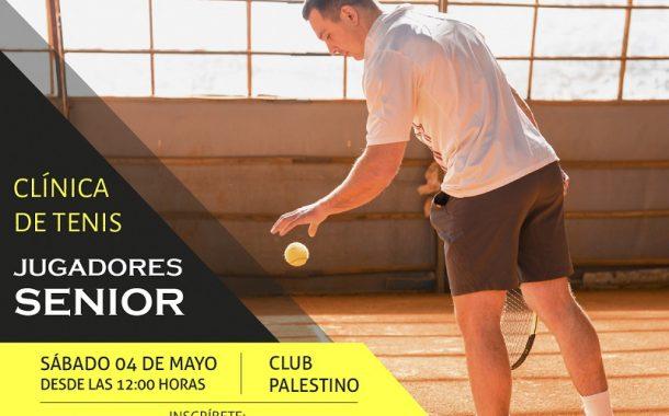 Clinica de Tenis Senior Sport Academy