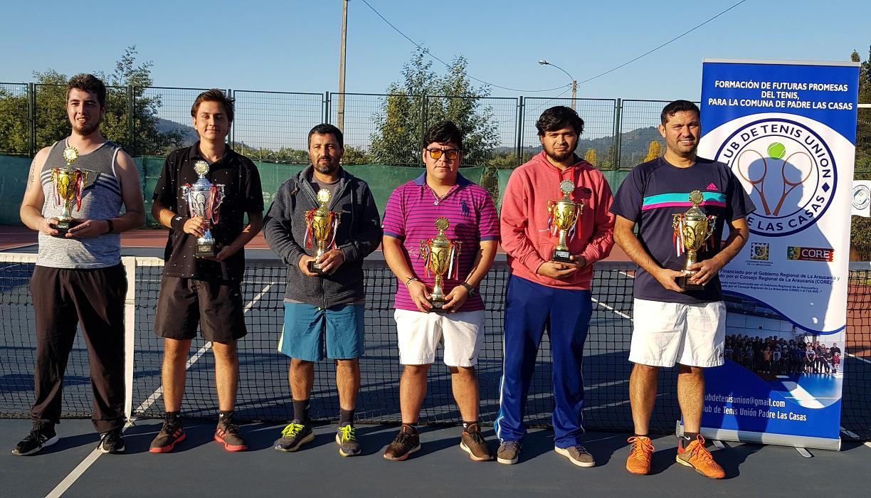 Campeonato de tenis Padre Las Casas
