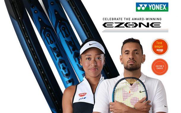 Yonex Ezone fue elegida la mejor raqueta del 2020